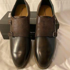 Robert Wayne Men's  Dress Shoes Double Strap